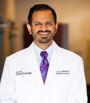 Neurosurgeon, Dr. Ravi H. Gandhi, M.D., HBI